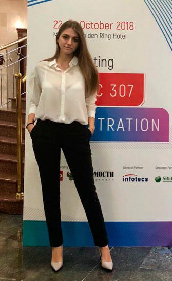 Exhibition Hostess Interpreter in Moscow