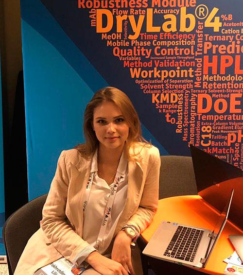 Moscow exhibition translator