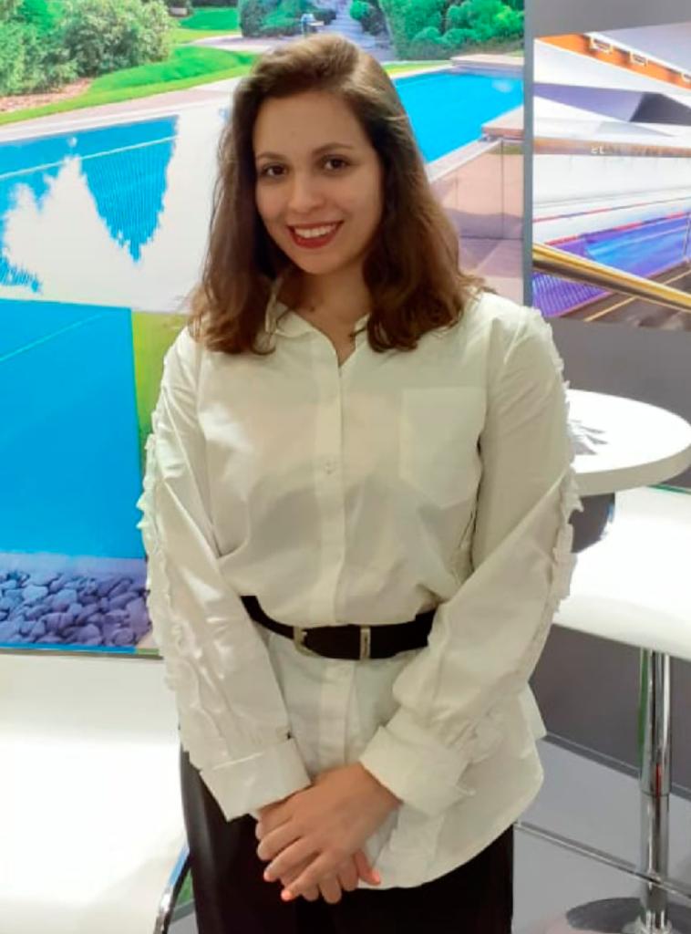 Moscow interpreter Karina Rom